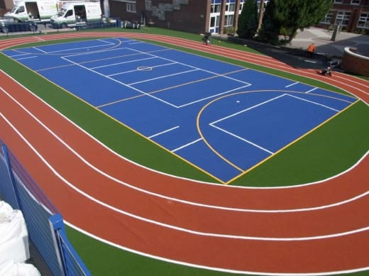 Sports Pitch Resurfacing Services