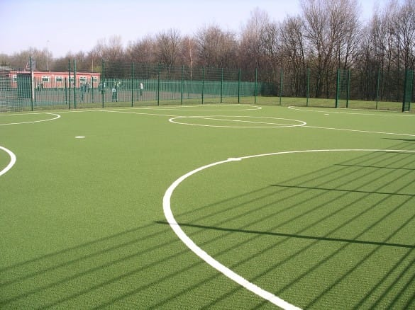 small secondary school muga