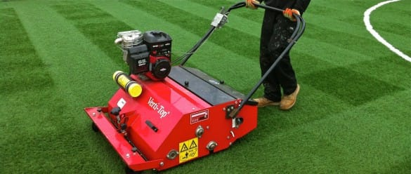 artificial grass maintenance machine groomer
