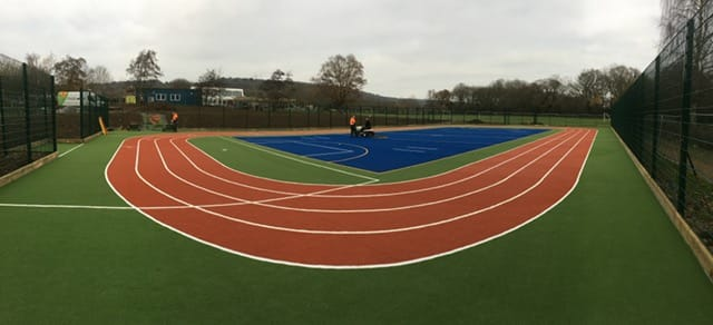 MUGA Pitch Construction at Oxted School: How we Create the ...