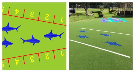 shark jump playground design