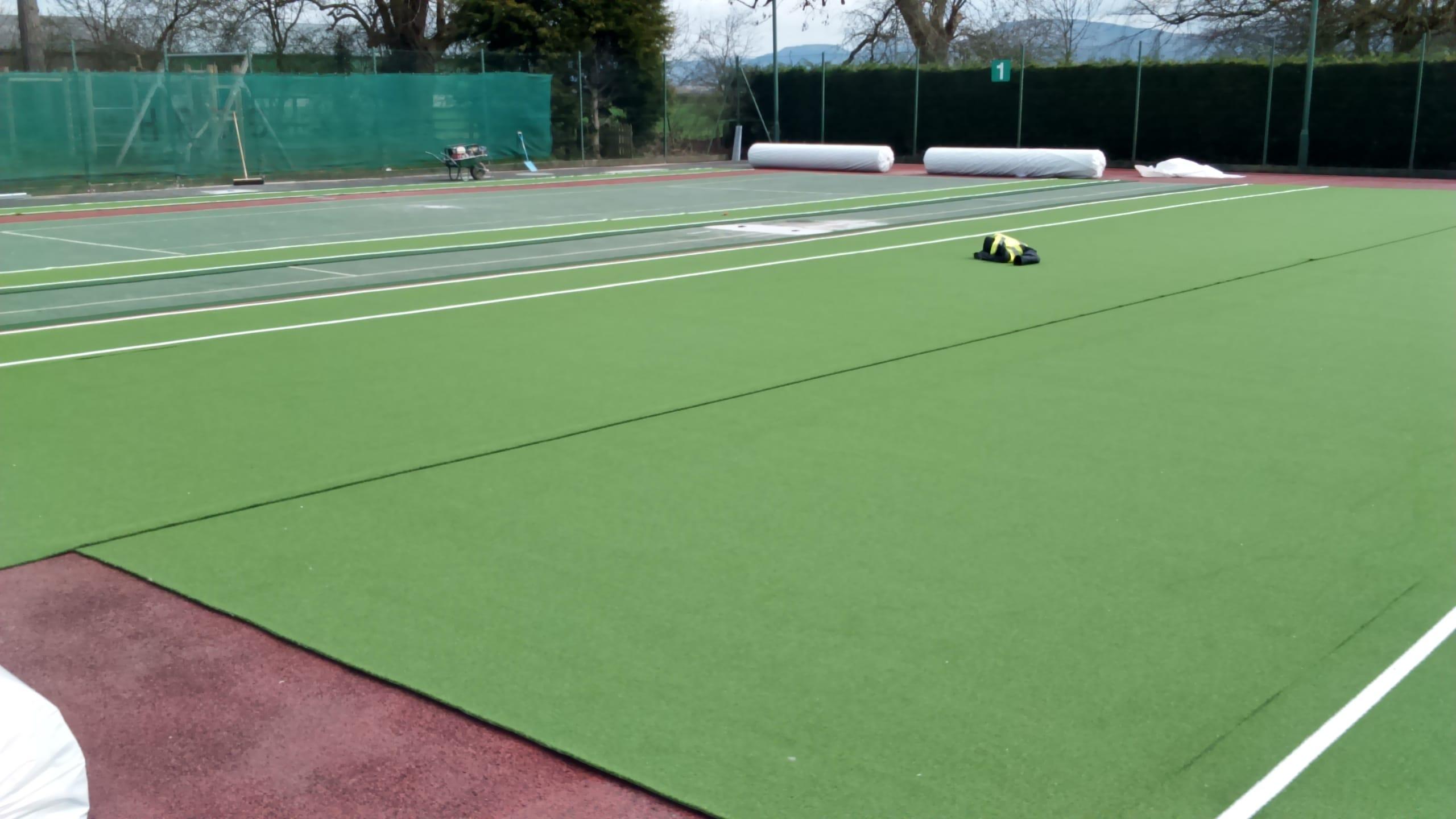 Tennis Court Resurfacing Construction Sports Courts Stm World