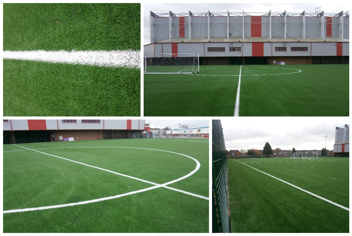walsall fc training pitch 3g