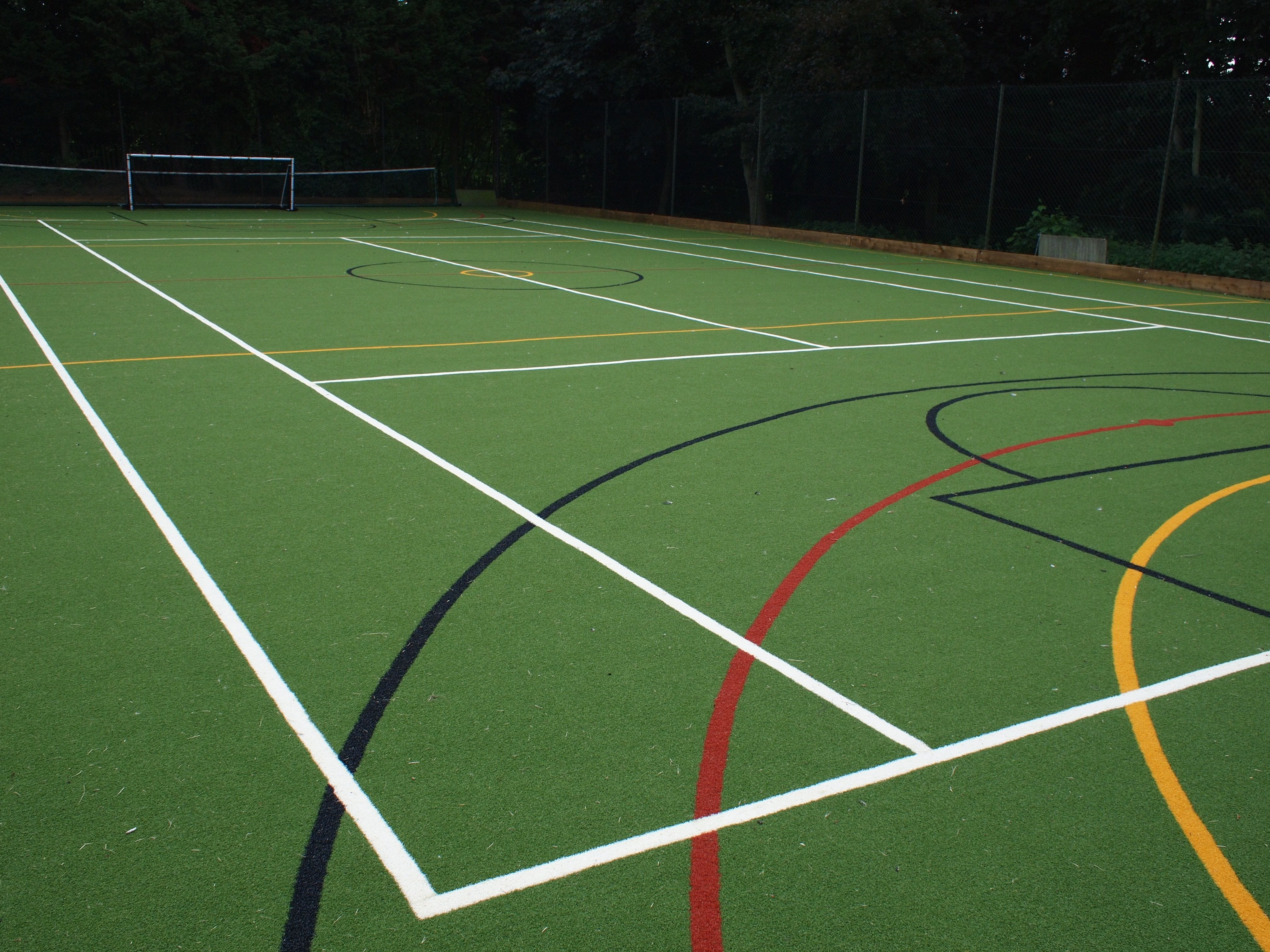 artificial turf MUGA (multi use games area)