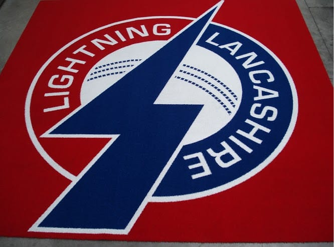 Lancashire lighting T20 logo mat
