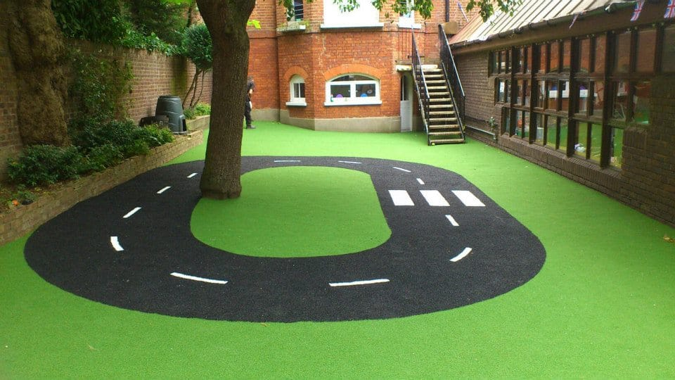 Roadway Playground Surface-Artificial Turf · STM World