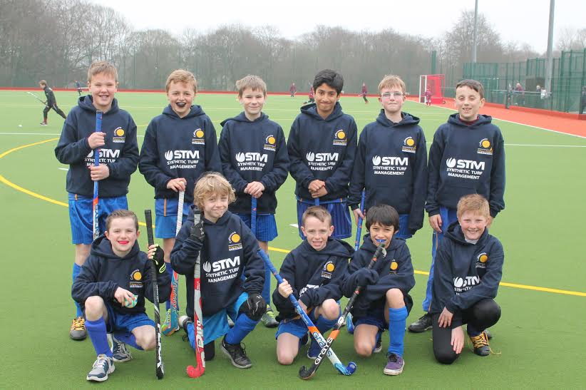 hockey team at cullercoats school