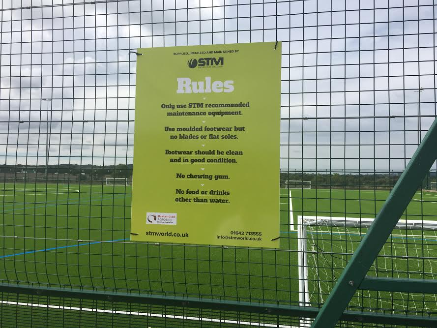 Abraham Guest Academy S New 3g Pitch Synthetic Pitch