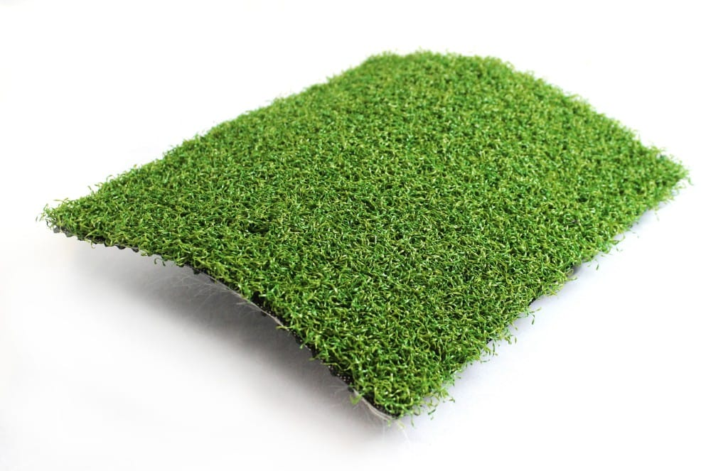 green artificial grass sample for playground