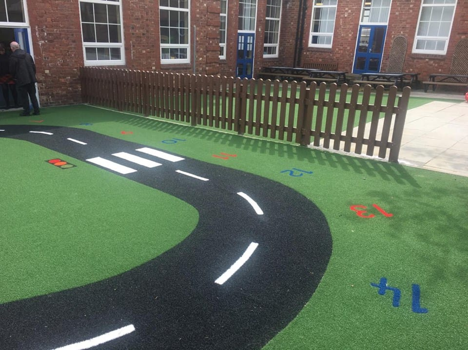 Playground Roadway as New Synthetic Surface | Astro Turf ...